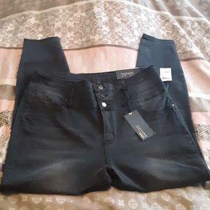 Refuge Highwaist Skinny jeans by Charlotte Russe